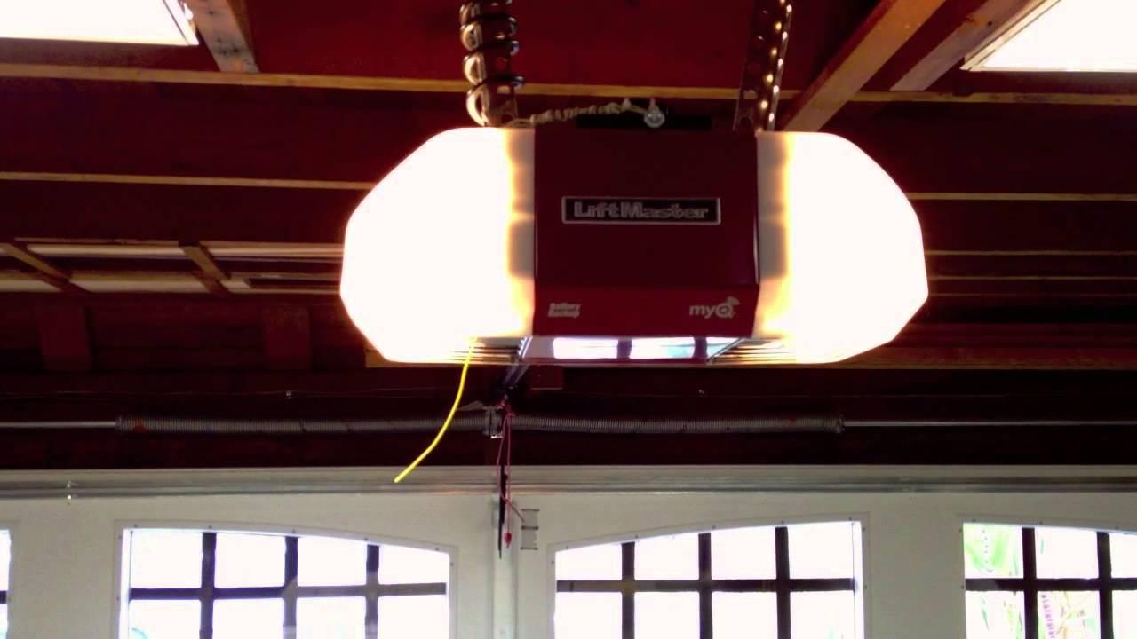 Liftmaster 8550 Garage Door Opener Sound Test Youtube