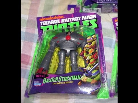 Review: Nickelodeon Teenage Mutant Ninja Turtles 2012 Action Figures: Baxter Stockman