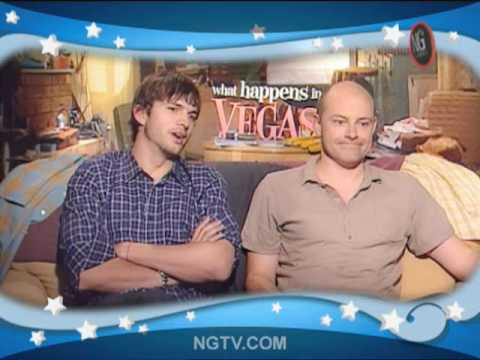 Ashton Kutcher, Rob Corddry & Carrie Keagan, Baby!!!!