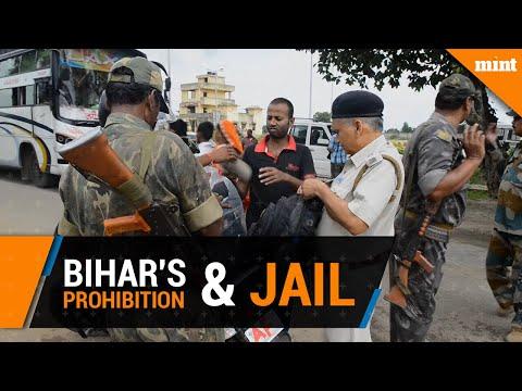 Bihar's prohibition is filling jail cells