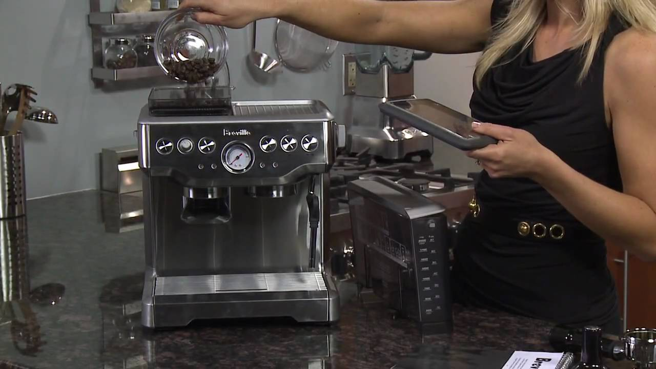 Out Of The Box Breville Barista Express Bes860xl Youtube