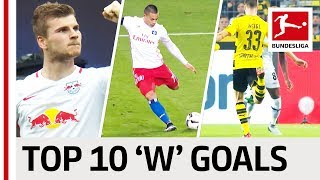 Wood, Werner  & Weigl - Top 10 Goals - Players With