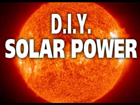 Make a Solar Powered Charger