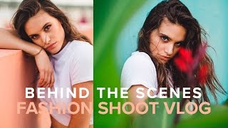 Fashion Photography with Natural Light Vlog