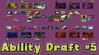 Warcraft 3 - WTii & ITH vs Sexytime & Firelord Ability Draft #5 (2v2 #20)