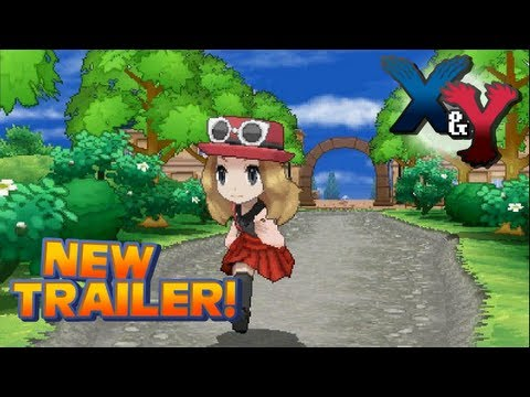 Pokémon X and Y - Gameplay Trailer [Nintendo 3DS]