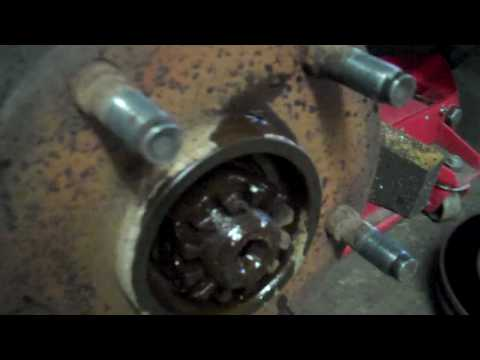 Dodge Ram Wheel hub bearing wheel joint repair how to 4x4
