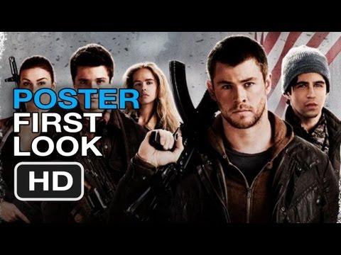 Red Dawn Remake - Poster First Look (2012) Chris Hemsworth, Josh Hutcherson Movie HD