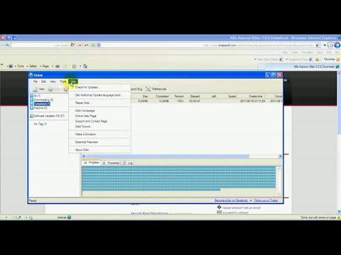 شرح استخدام برنامج Orbit Downloader لادارة التحميل المجاني