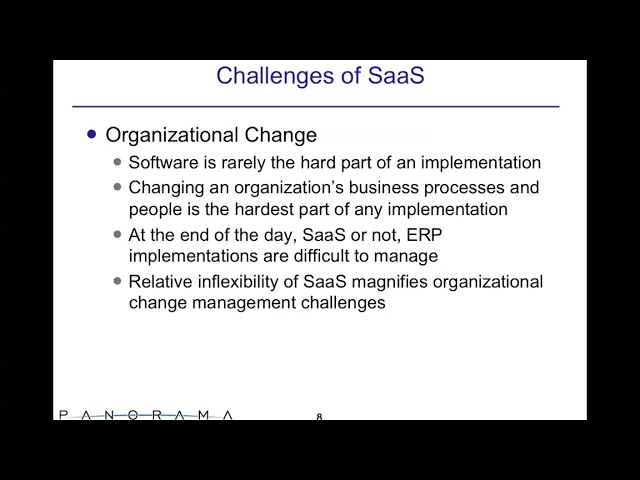 SaaS vs. On Premise ERP: Understanding Fact and Fiction