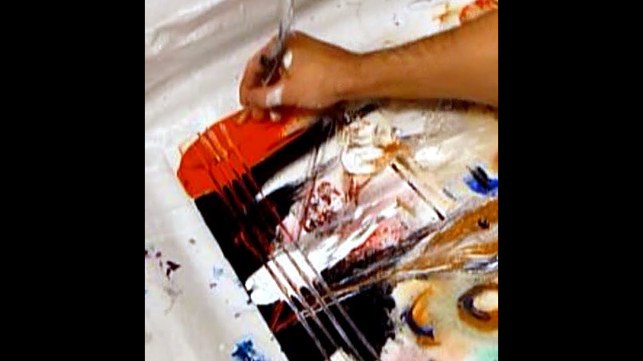 Abstract art painting ideas techniques tips tricks and for Acrylic mural painting techniques
