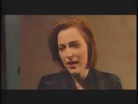 Gillian Anderson on David Letterman Parody