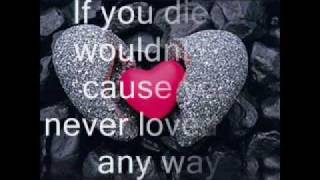 Mya - If You Died I Wouldn't Cry Cause You Never Loved Me Anyway