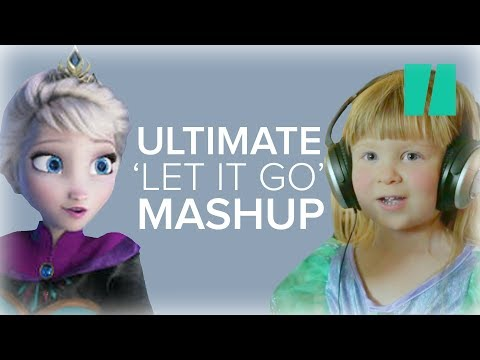 21 Mini Elsas Star In An Epic Supercut Of 'Let It Go'