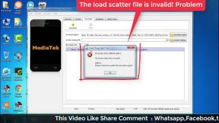 iBall Andi 5F Infinito The load scatter file is invalid