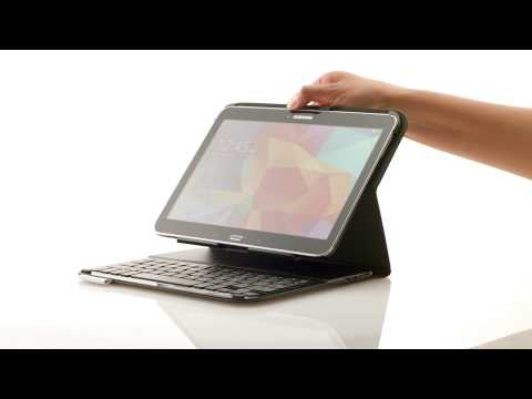 Ultrathin Keyboard Folio for Samsung Galaxy Tab4 10.1