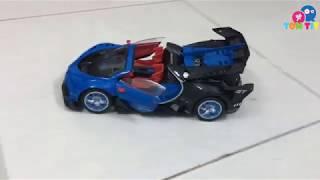 Đập hộp xe ô tô điều khiển đồ chơi cho bé - TomTit TV