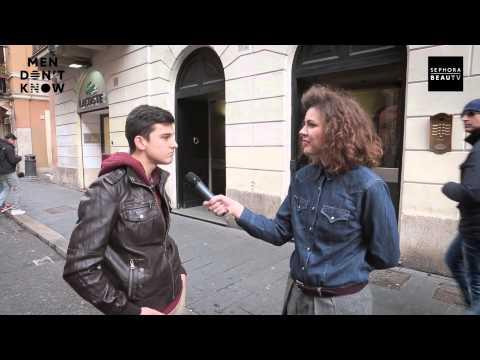 Uomini e Make Up – Men don't know – Sephora BeauTv #5