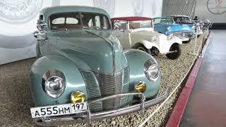 Автомобильный музей. Москва. AUTOMOBILE MUSEUM. MOSCOW. cars.