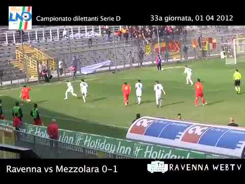 Calcio: Ravenna — Mezzolara 0 — 1 – Sport, 01/04/2012