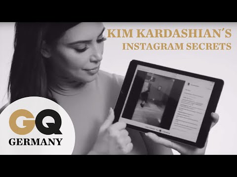 Kim Kardashian´s Instagram Secrets - jetzt exklusiv im GQ-Interview