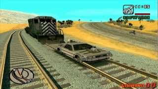 GTA San Andreas - Back to the Future Mod - Train Scene (1080p HD)