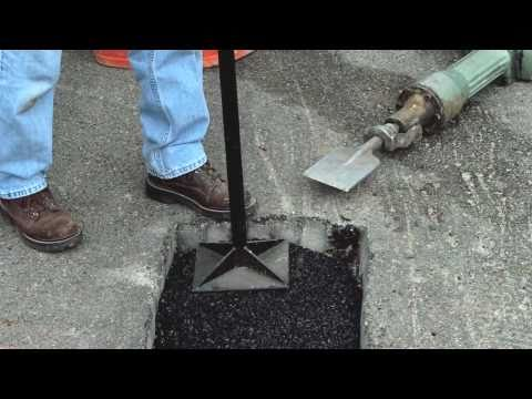 How to Make Permanent Repairs to Asphalt Potholes with QUIKRETE®