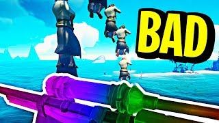 SEA OF TRICKSHOTS! - Sea Of Thieves Funny Moments