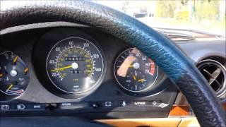 Mercedes-Benz 380 SL - R107 - DRIVING CLIP
