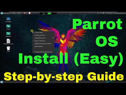 How to install Parrot security os on vmware (EASY)