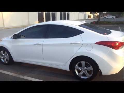 Elantra Modified 2013 on All New 2013 Hyundai Elantra Sedan Walkaround Exterior Review