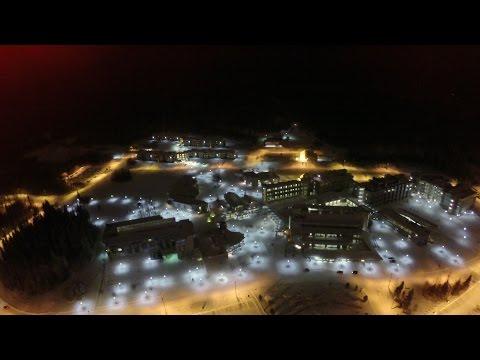 Winter at UNBC