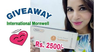 GIVEAWAY ❤ - No Rule | International Product | Mornwell | AliExpress | Unboxing & Review |