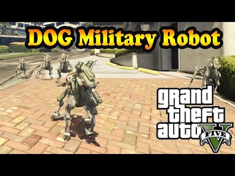 DOG Military Robot 1.0