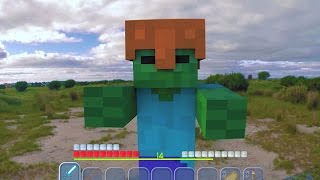Top 6 Minecraft In Real Life Animations Compilation / Real Life Mario Animations