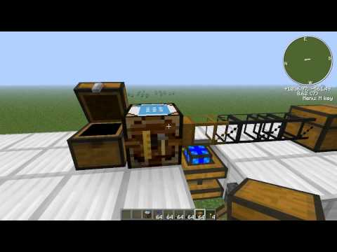 Feed The Beast Quickie - BuildCraft: Automatic Crafting Table