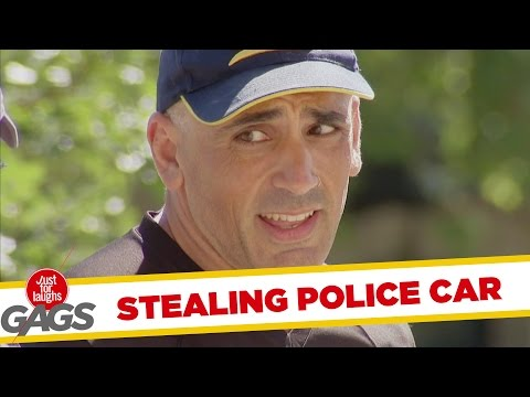 Stealing Cop Car - Rendőrautó lopás