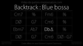 Blue Bossa (120bpm) : Backing track