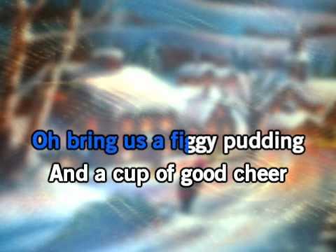 Christmas Carol - We Wish You A Merry Christmas Karaoke Version