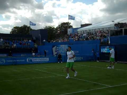 Ross Hutchins & Colin Fleming in action