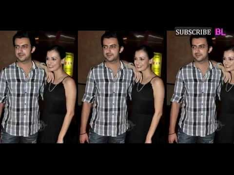 Dia Mirza and Saahil Sangha look gorgeous in their mehendi outfits
