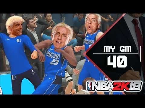 [MyGM]: RIC FLAIR IS IN THE BUILDING? - NBA 2K18 [040] - Lets Play | Maxx | Deutsch