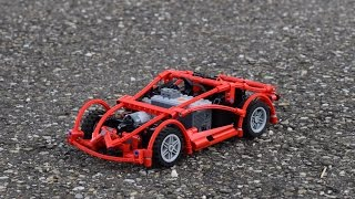 The LipoSpeeder: a raw speed machine made of Lego