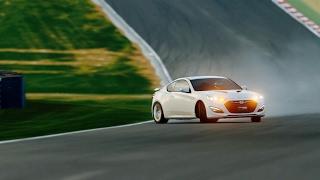 GT Sport Drifting - Stock Hyundai Genesis Coupe 3.8