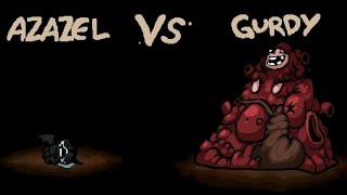 The Binding of Isaac - All Bosses - Gurdy / Айзек - Все Боссы - Герди