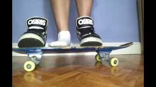 Osiris Bronx Slim with sk8erboy socks on skate