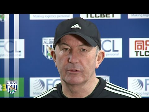 PRESS CONFERENCE: Tony Pulis previews Albion's Premier League fixture at Leicester City