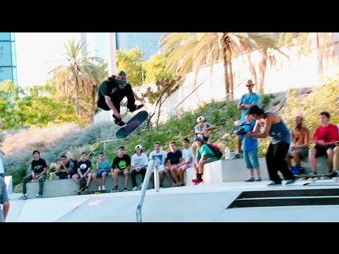 Torey Pudwill + DVS TEAM (10 TRICKS) - Les Corts Skateplaza