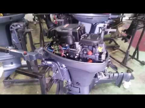 регулировка клапанов лодочного мотора ямаха