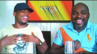 Two Angry Men: Nigerians speak PIDGIN ENGLISH!!